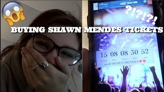 BUYING SHAWN MENDES TICKETS|vlog