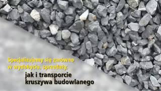 Kruszywo budowlane wydobycie kruszywa usługi koparkoładowarką Czołpin Krzysztof Wasilewski