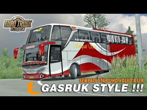 Aksi Nekat Driver Sumatera Libas Jalur Extreme Berastagi-Medan - ETS2 Mod Indonesia - 동영상