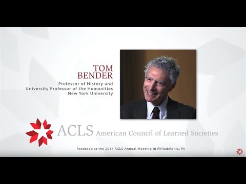 The Humanities Interviews:  Tom Bender
