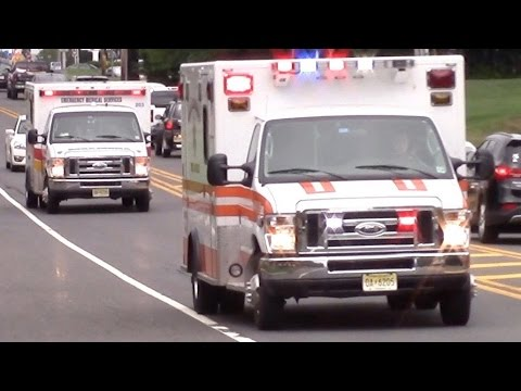 Ambulance Responding Compilation - Best Of 2016