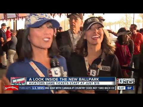 NEW LOOK: Inside the Las Vegas Ballpark