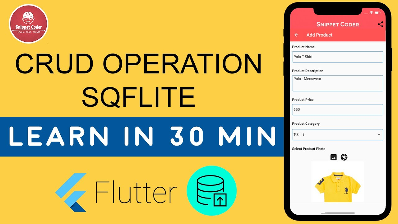 The Best way to learn SQFLITE in Flutter Development 🔥