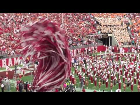 Alabama Takes the Field vs Tennessee 2015