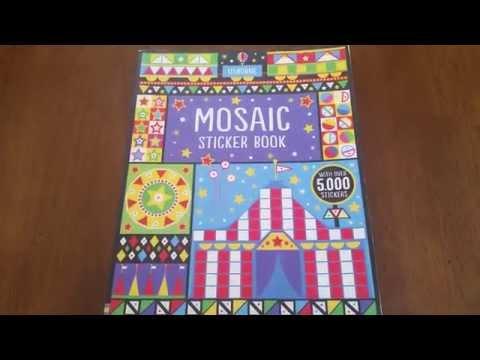 Usborne Books More Mosaic Sticker Book