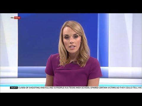 Rebecca Williams presenting links - Sky News - 1400 - 20.5.2018