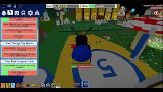 Roblox Bee Swarm SImulator but if i touch a honey tokn the video ends
