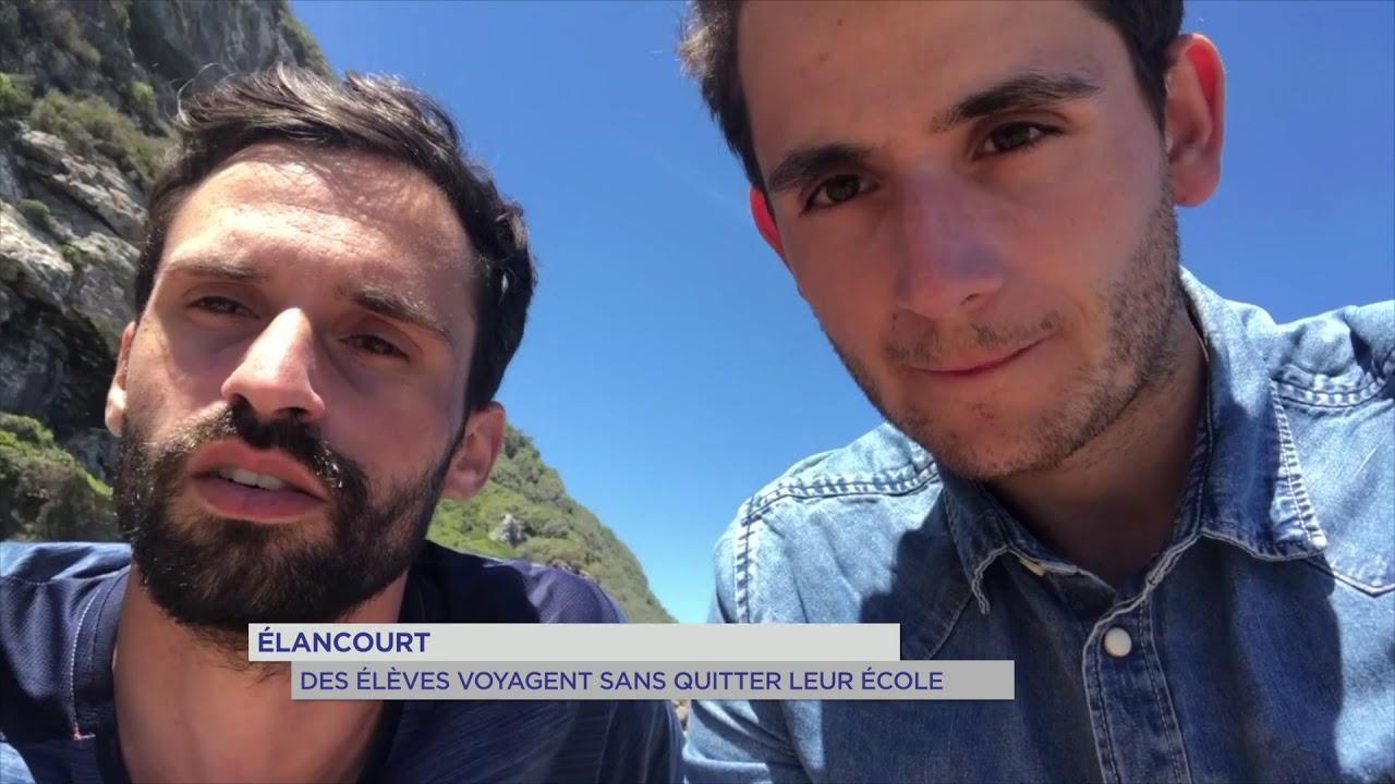 Élancourt : des élèves voyagent sans quitter leur école