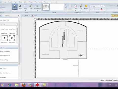 smart draw floor plan part 2 of 2 - Smartdraw Floor Plan Tutorial