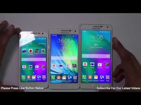 Samsung Galaxy A3 VS Galaxy A5 VS Galaxy A7: Which Is Better And Why?