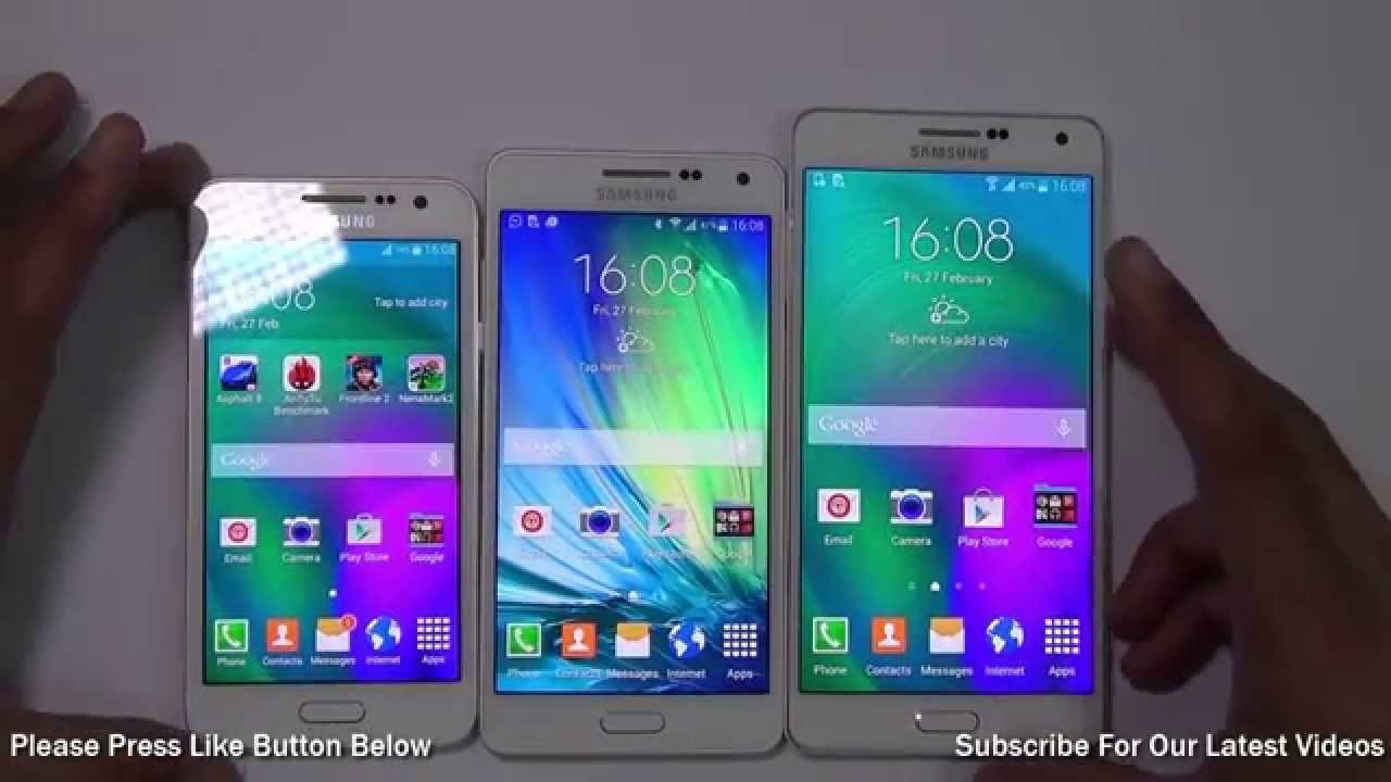 Samsung Galaxy A3 VS A5 A7 Which Is Better And Why