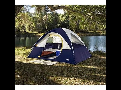& Northwest Territory Rio Grande Quick Camp Tent - YouTube
