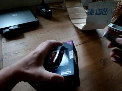 Samsung i8910 Omnia HD Unboxing