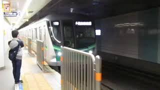 東京メトロ16000系16111F東北沢駅内側線通過