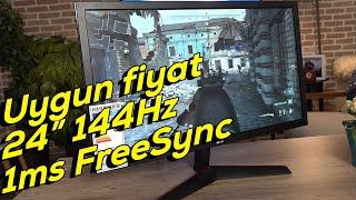 "LG 24GL600F ön inceleme | 24"" 144Hz 1ms Freesync oyuncu monitörü"