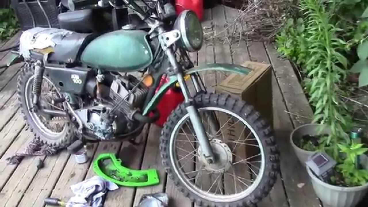 medium resolution of 1979 kawasaki km100 repair