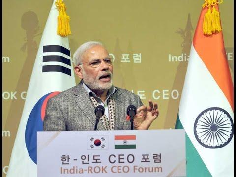 LIVE | Narendra Modi speech | CEOs Forum and Business Meet | Seoul | South Korea