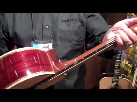 Bedell custom guitars namm 2010 www.richsmusicexchange.com
