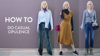 How to Do Casual Opulence for Daytime | Nordstrom