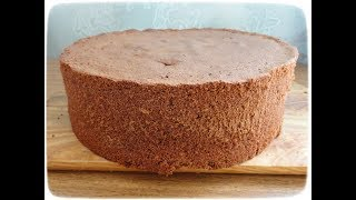 Шоколадный бисквит (простой и всегда получается)