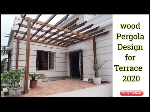 Terrace / Balcony Pergola design Ideas | Terrace / Balcony Design ideas 2020