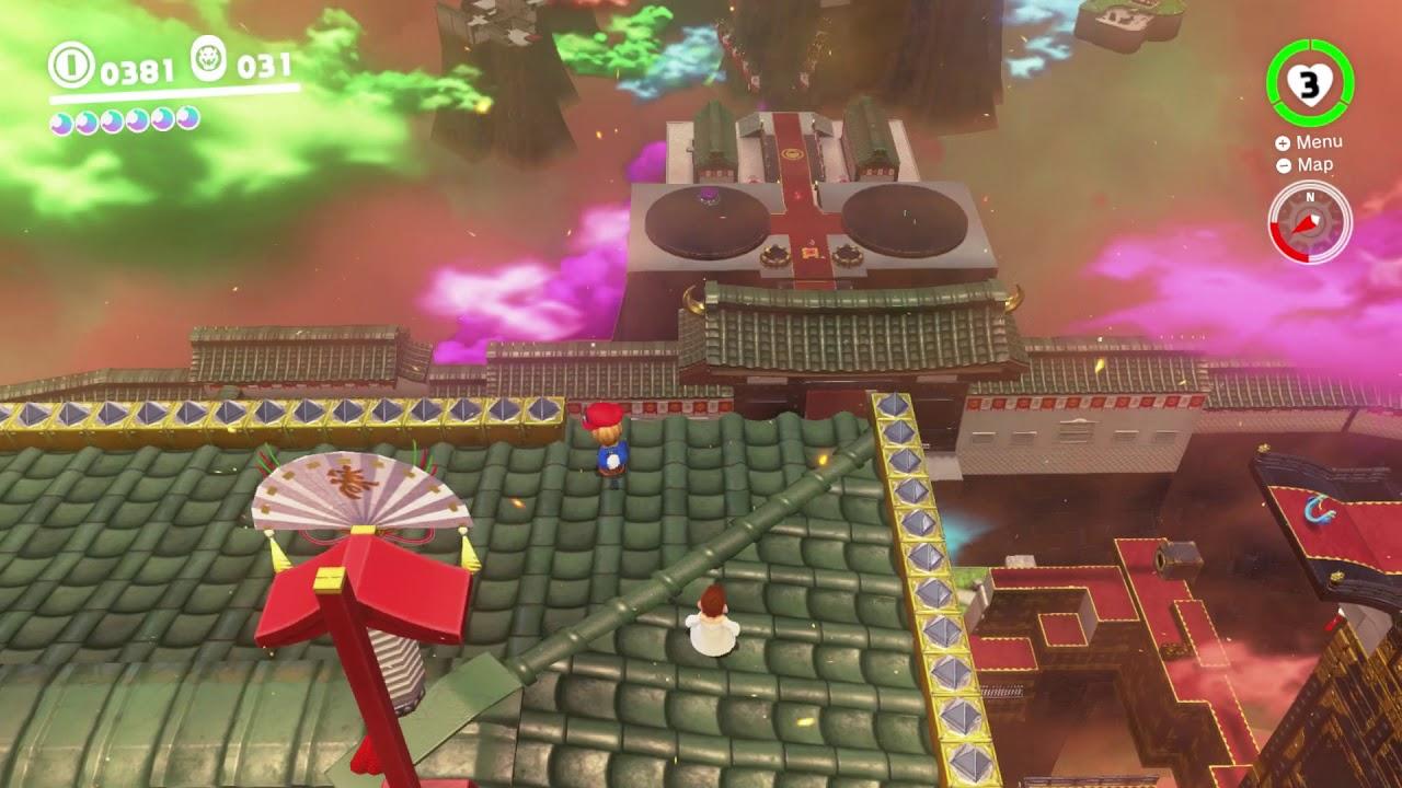 Super Mario Odyssey Bowser S Kingdom Moon 53 Bowser S Kingdom