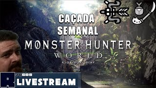 🔴Monster Hunter World - Semanal de Glaive Inseto/Arco (RE/HR) PT-BR