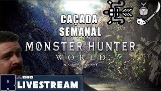 🔴Monster Hunter World - Semanal de Glaive Inseto/Arco (RE/HR) PT-BR