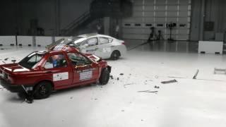 Краш Тест Старого И Нового Nissan