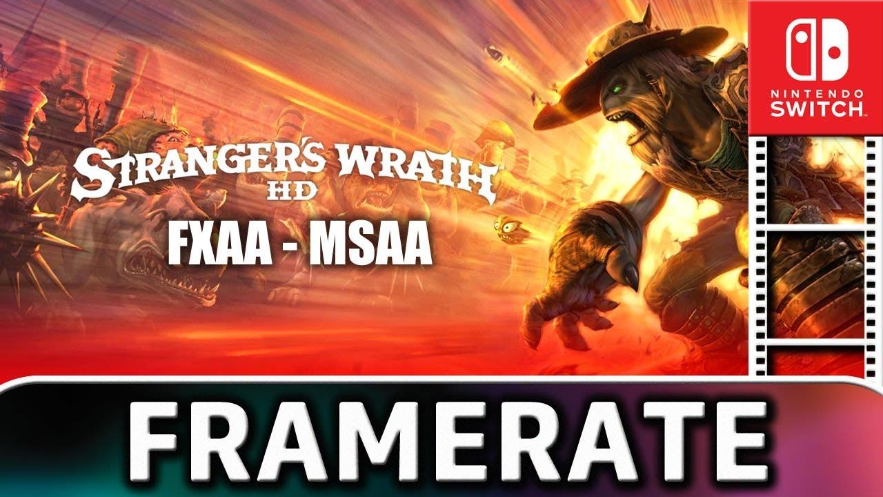 Oddworld: Stranger's Wrath | Frame Rate TEST on Nintendo Switch