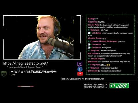 LAWN CARE HELP DESK – The Live Show
