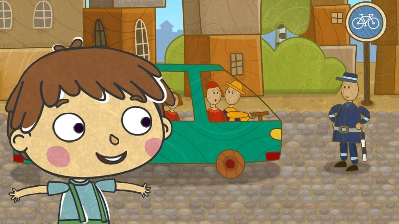 Машинки — Мультики для детей. Новая серия сериала для мальчиков — Старый город