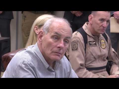 DHS Secretary Kelly Visits S. Texas Border
