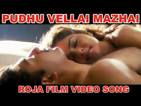 Pudhu Vellai Mazhai Song   Roja   Arvind Swamy, Madhoo   A. R. Rahman   Balasubrahmanyam, Chithra