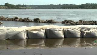 Missouri River Flooding - SE South Dakota - 14 June 2011