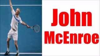 Tennis Impersonation - John McEnroe