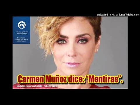 "Carmen Muñoz dice: ""Mentira"". Fórmula Espectacular con Flor Rubio. 5/5-2"