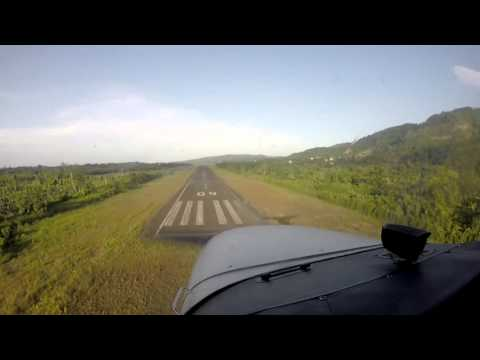GoPro Footage - Jamaican Private Pilots - Building time in the air