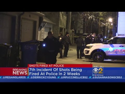 Shots Fired At Chicago Police Near UIC Library