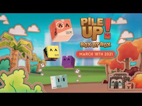 Pile Up! Box by Box -  Un juego DIVERTIDO de STEAM - Gameplay Español  