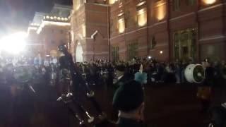 Уличные музыканты ~ Шотландская волынка на Красной Площади