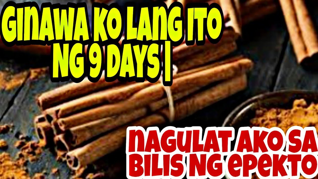 Ginawa ko Ito Ng 9 days | nagulat ako SA magandang SWERTE dumating SA akin