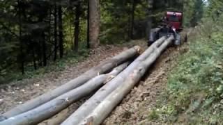 IRUM TAF 690 OP - przegubowy ciągnik leśny