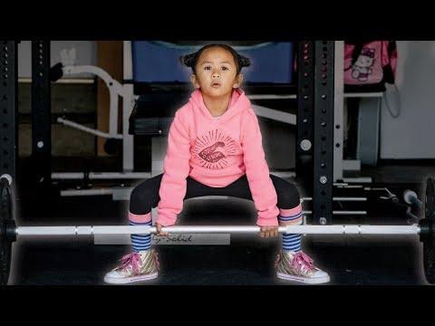Meet the Littlest Powerlifter - Happy Luma - 5 Year Old Powerlifter