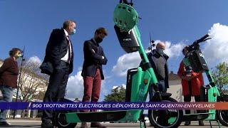 Yvelines | 900 trottinettes électriques déployées à Saint-Quentin-en-Yvelines