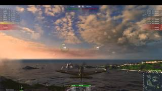 World of warplanes P-40 gameplay