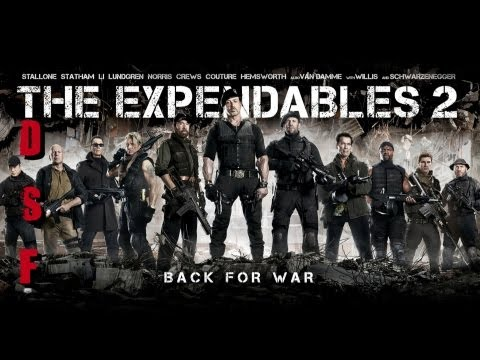 Die Schwarze Filmdose - The Expendables 2 (Review)