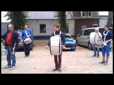 fanfare de Moulbaix repetition de la clique grosse caisse