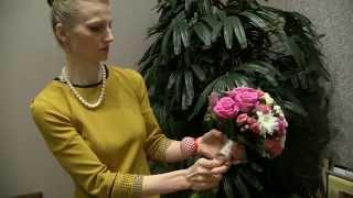 Мастер-класс по созданию букета невесты