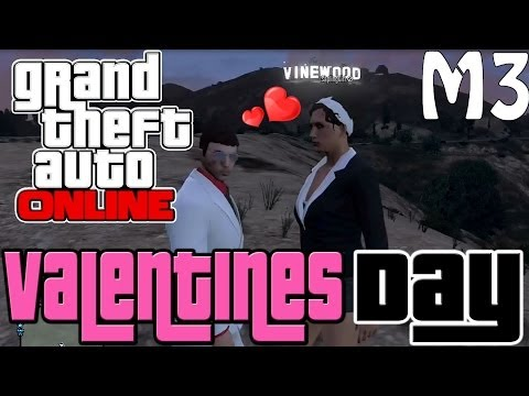 GTA 5 Online Valentines Day Massacre DLC Funny Moments - Going On A Date In GTA V (Bonnie & Clyde)